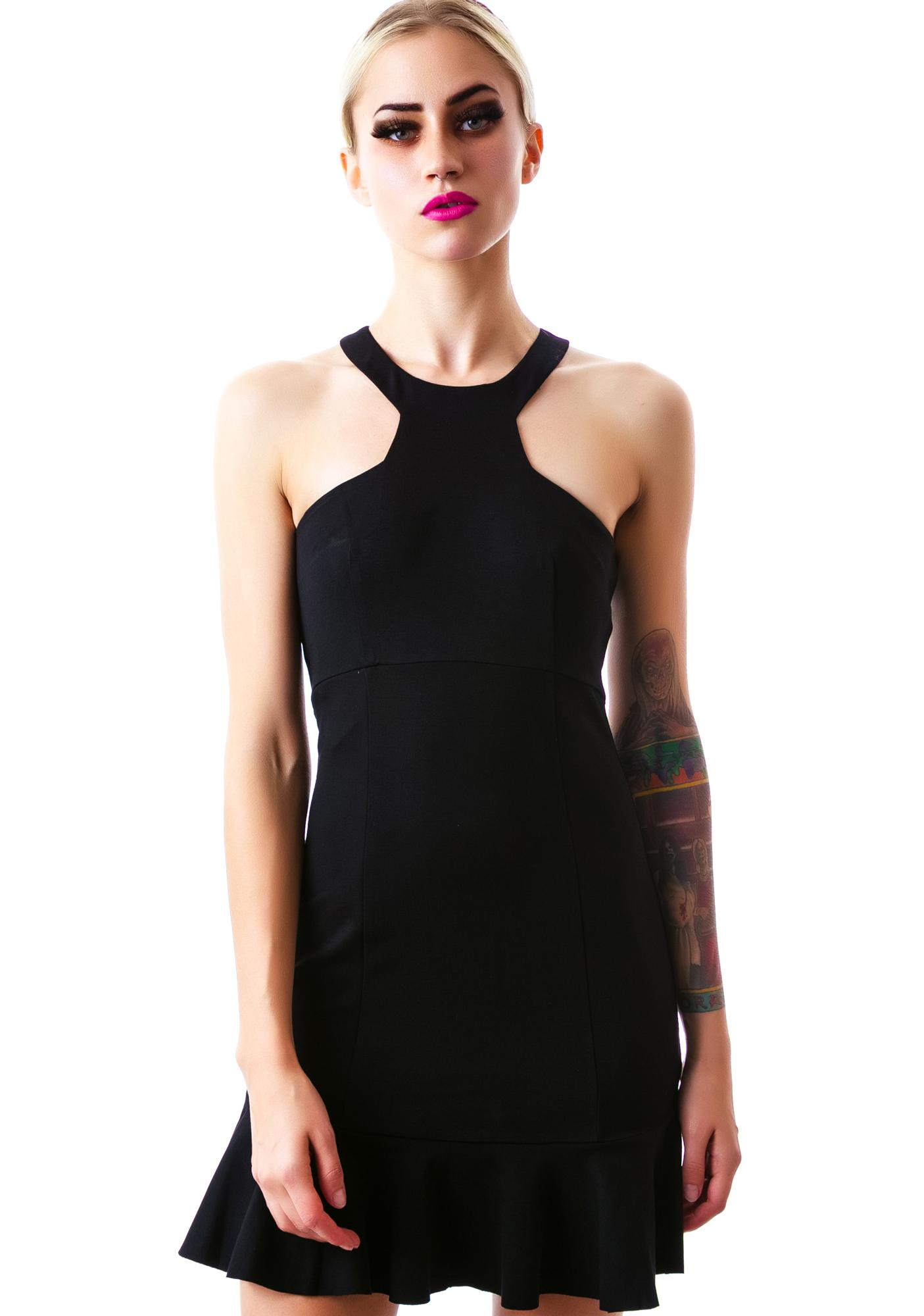 Business Savvy Peplum Dress