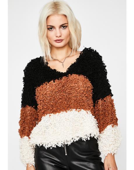 Feelin' Luxe Striped Sweater
