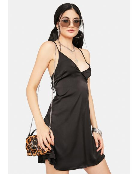 Passion Flirt Satin Slip Dress