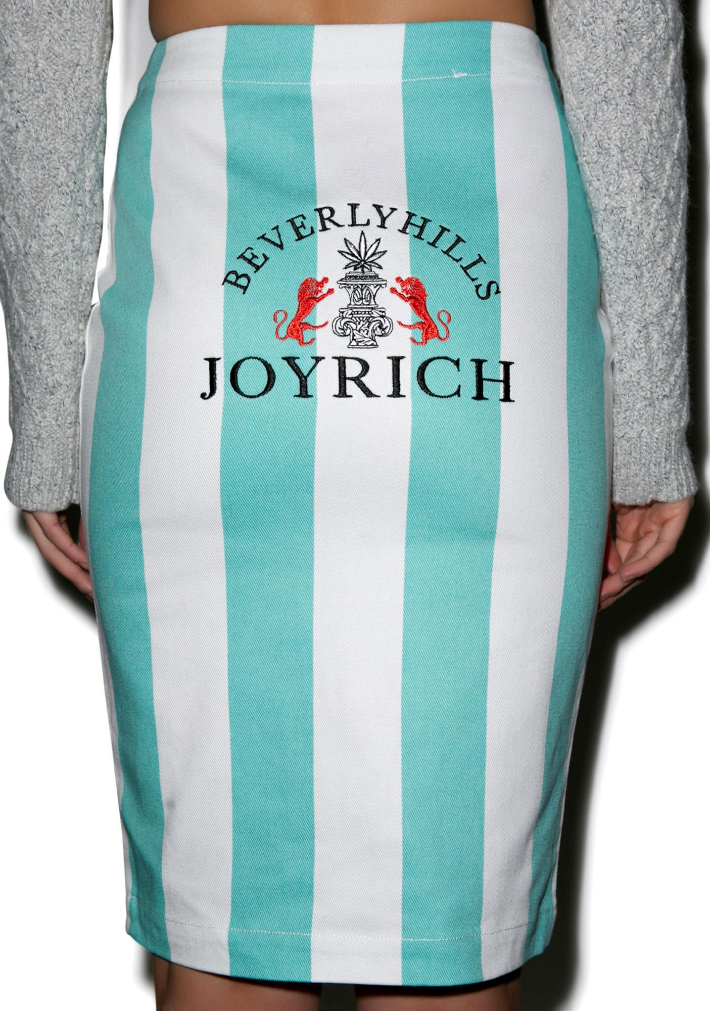 Joyrich Bold Lane Front Zip Skirt
