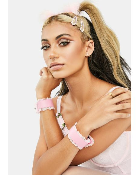Sweet For You Ruffled Bracelets