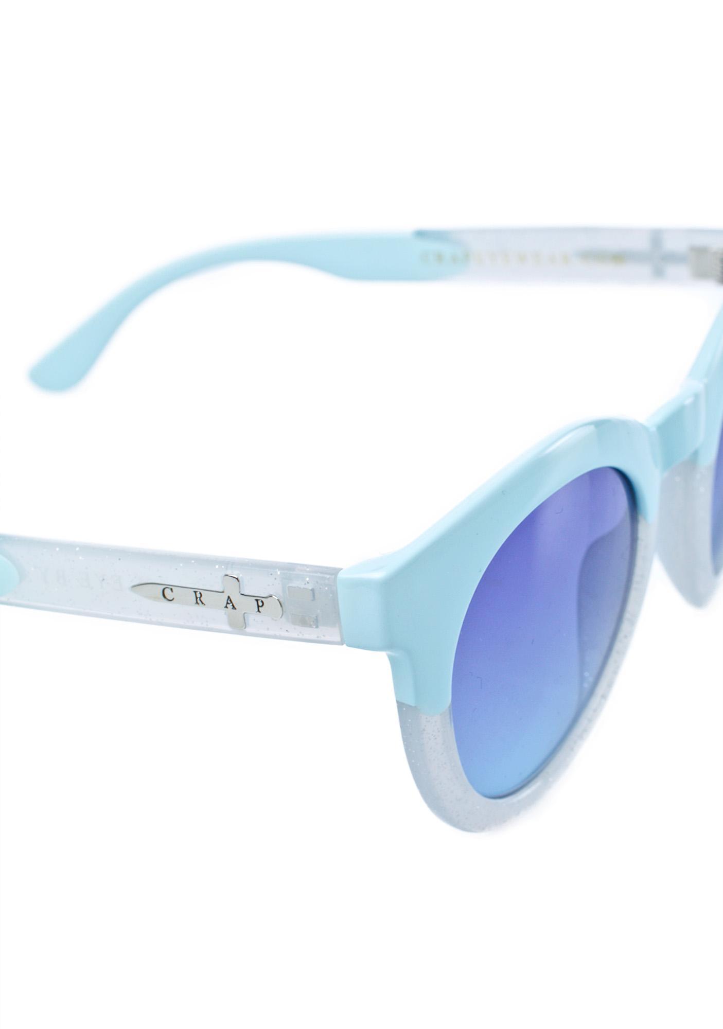 Crap Eyewear The Tru Blue TV Eye Sunglasses