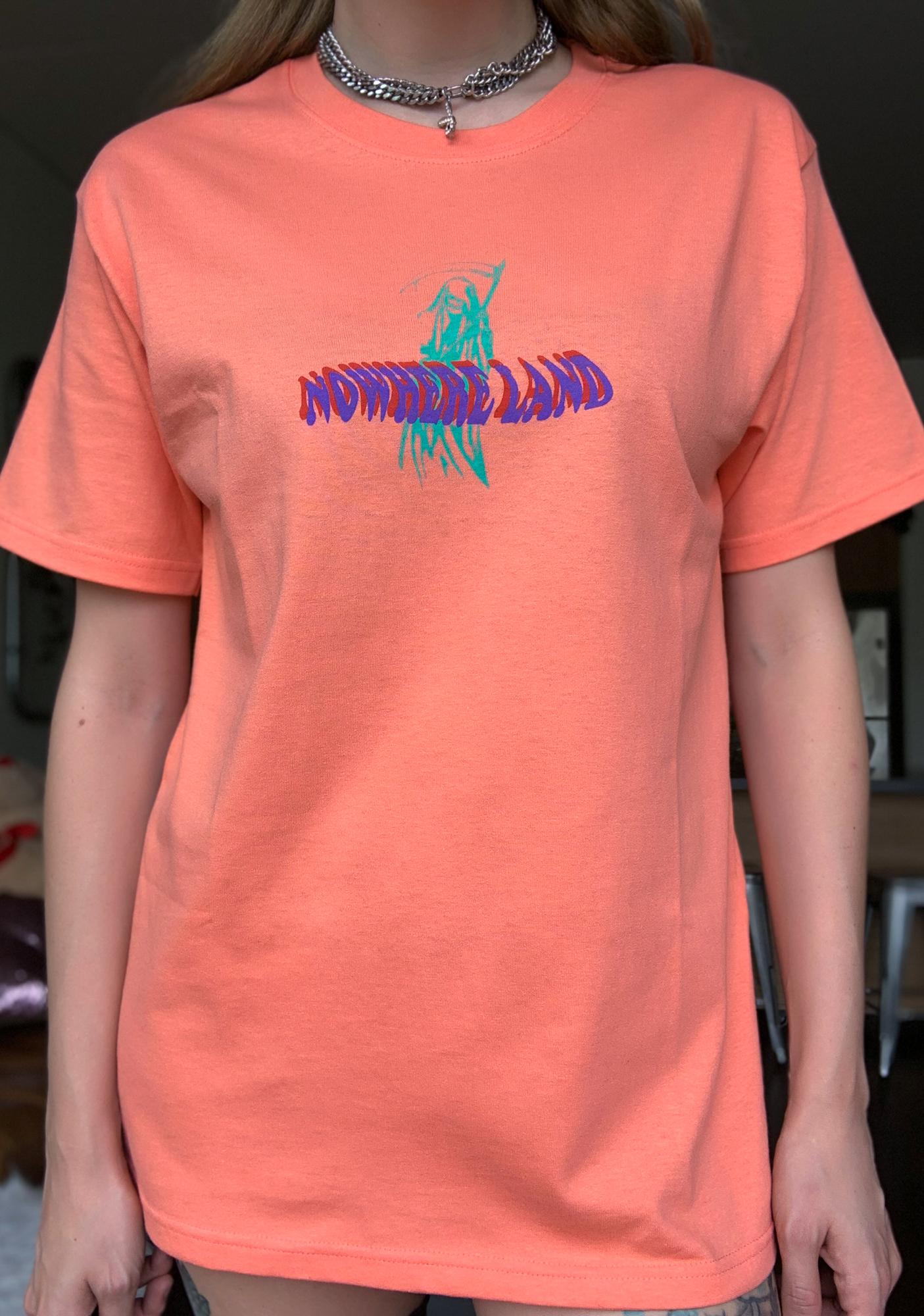 ILL INTENT Coral Nowhere Graphic Tee