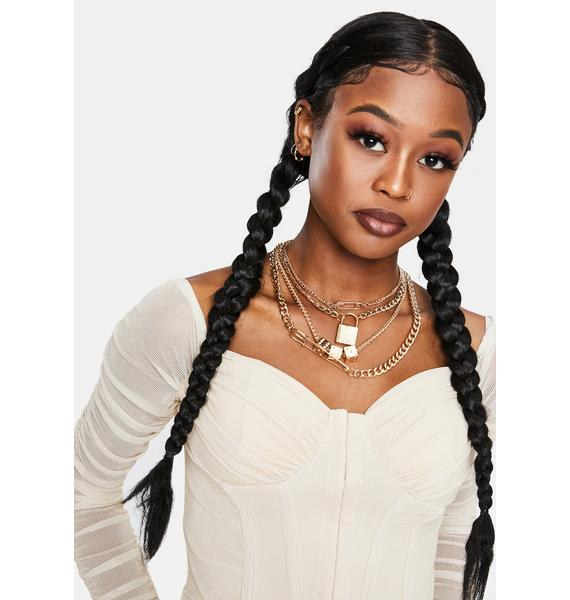 Made For VIP Layered Chain Necklace Set