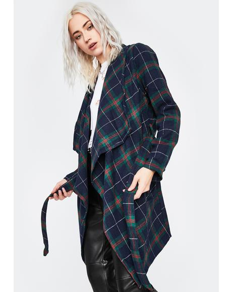 Need No One Longline Coat