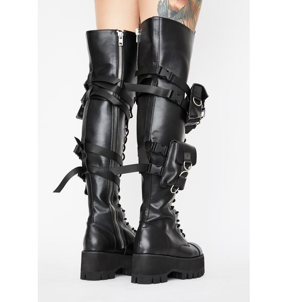 Current Mood Mission Accomplished Utility Boots