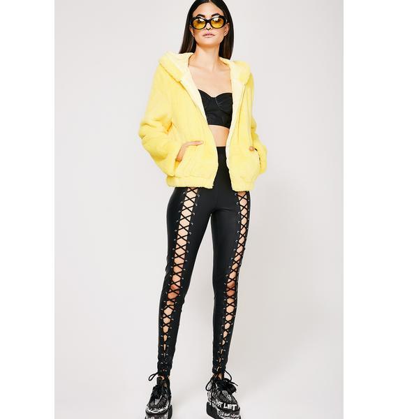 Eternal Sunshine Furry Hoodie