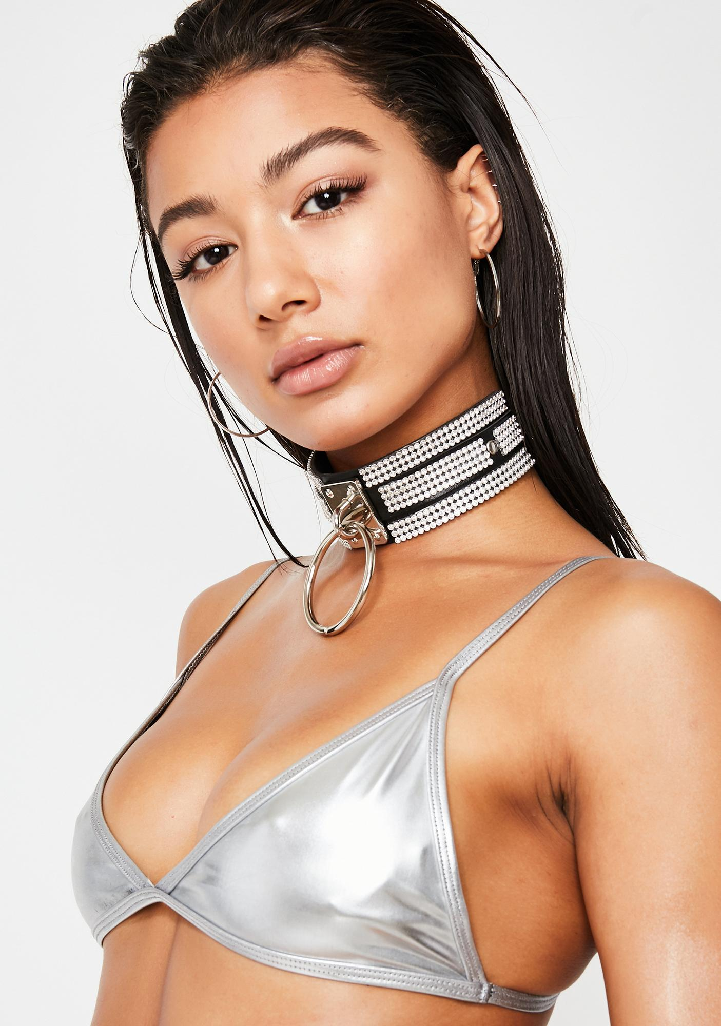 Motel Chrome Valter Bikini Top
