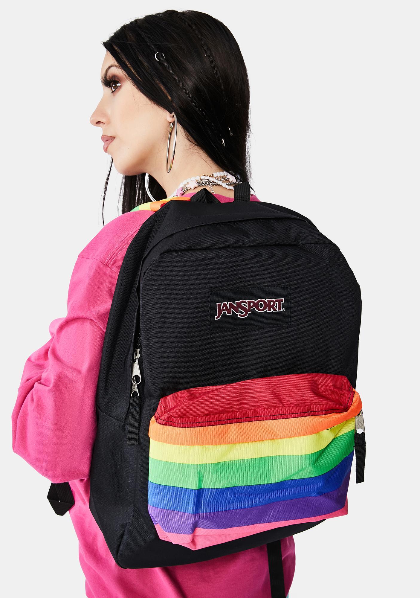 JanSport Rainbow Dreams High Stakes Backpack