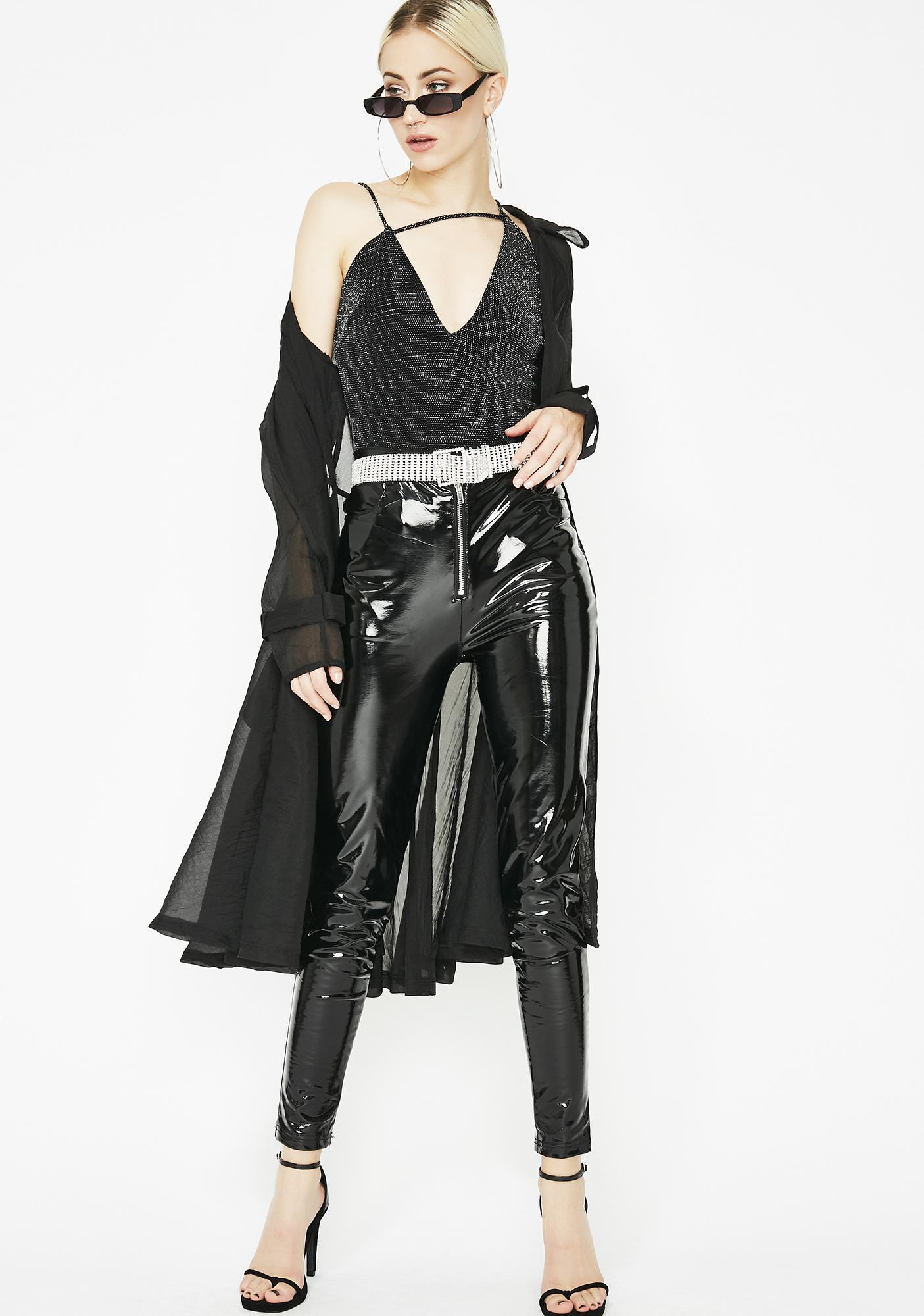 Lucky Star Asymmetrical Bodysuit