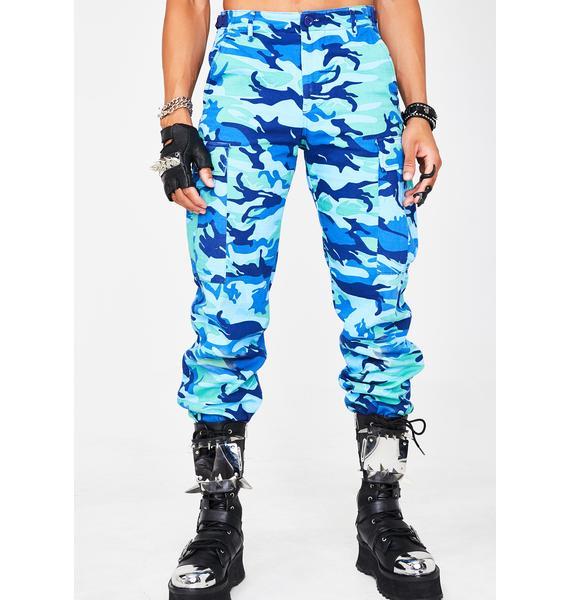 Berry Operation Slay Cargo Pants