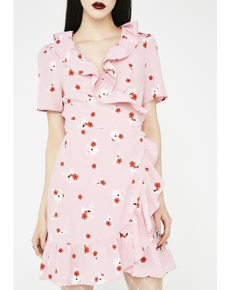 Keep Dreaming Floral Dress