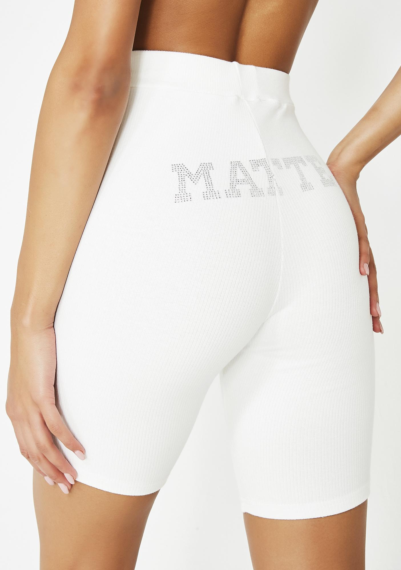 Matte Pure Babygirl Biker Shorts