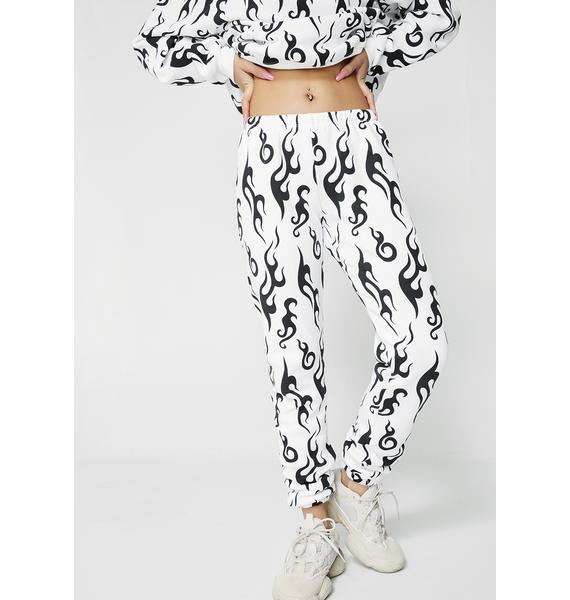 Wildfox Couture Light My Fire Sweatpants