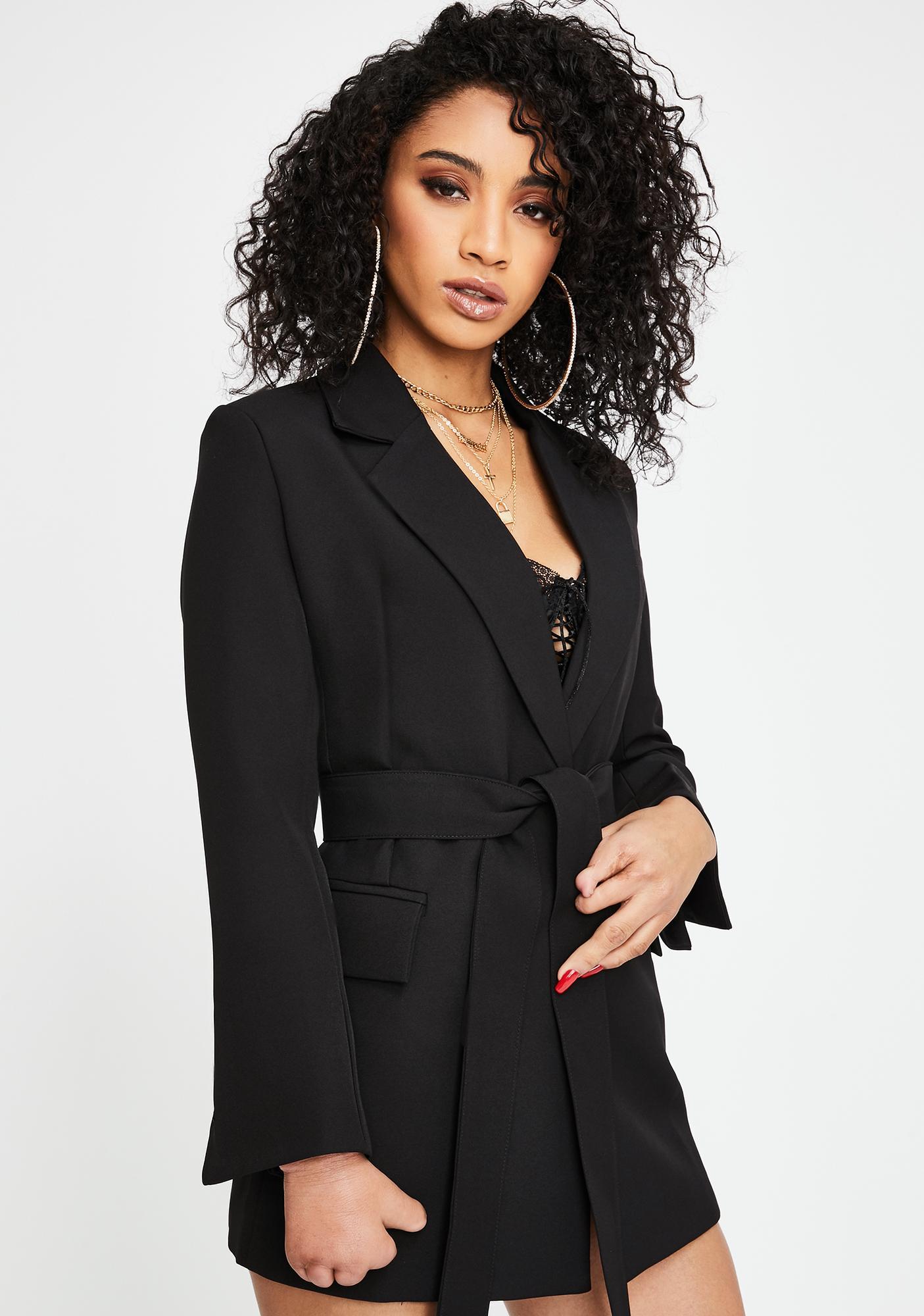 THE KRIPT Leader Blazer Jacket Dress