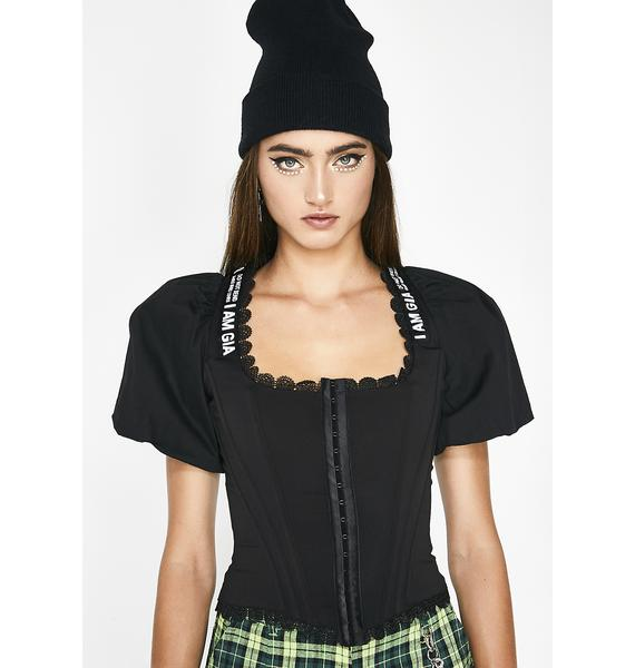 I AM GIA Chelsey Corset Top