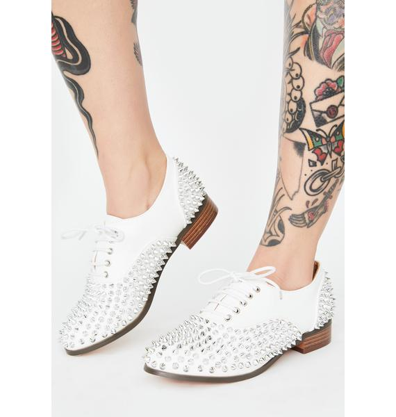State Of Mind Studded Oxfords