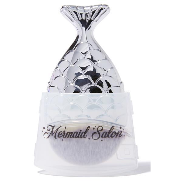 Mermaid Salon Silver Chubby Mermaid Brush
