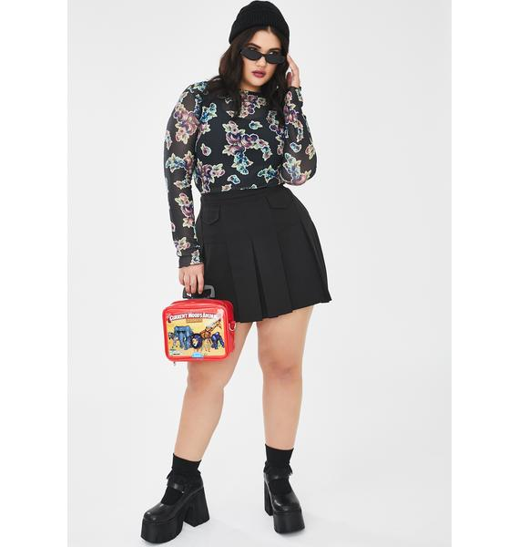 Current Mood Real Harsh Karma Mini Skirt