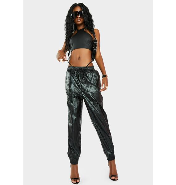 Zee Gee Why Jogger Vegan Leather Pants
