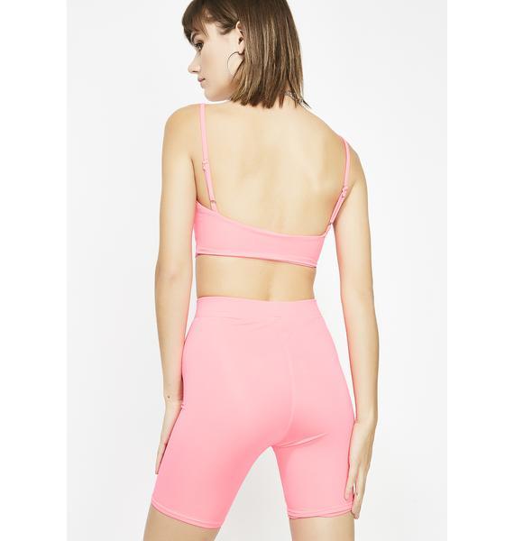 Sugar High Biker Shorts Set