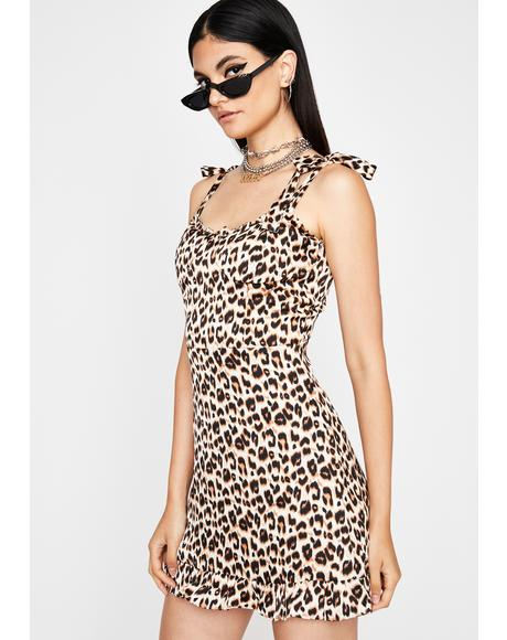 Prowlin' Pretty Leopard Dress