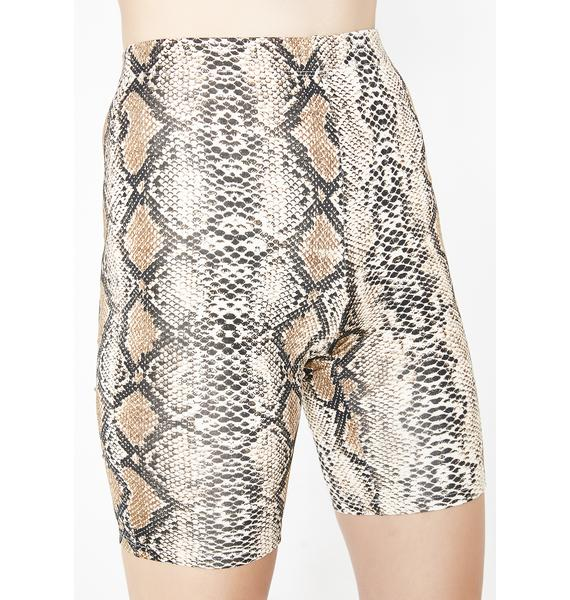 Cobra Lounge Biker Shorts