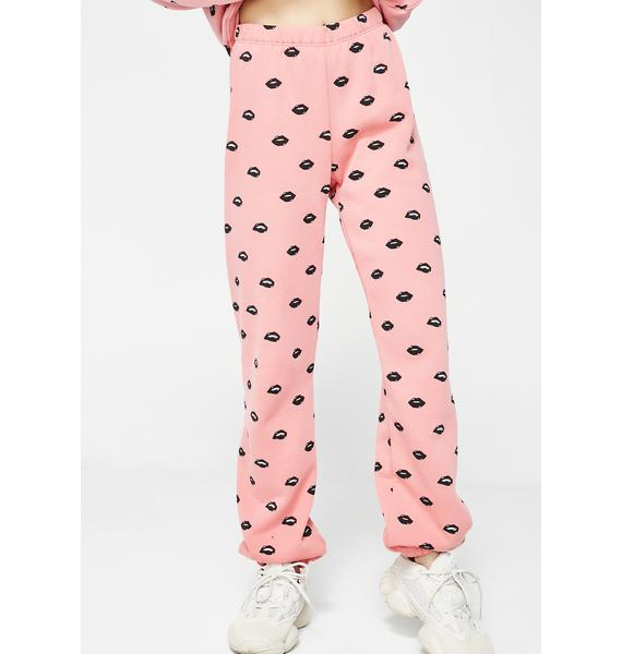 Wildfox Couture Lip Service Sweatpants