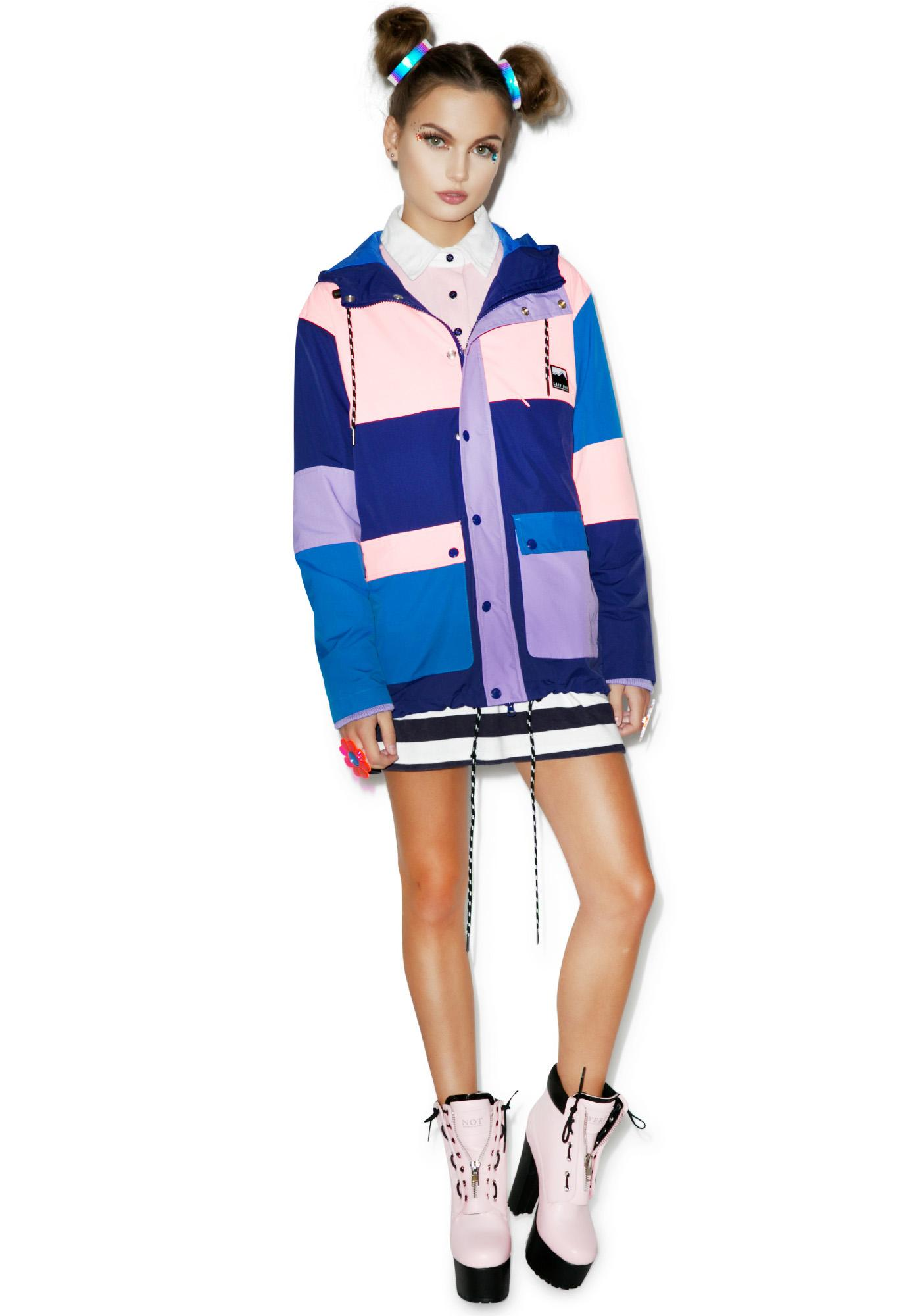 Lazy Oaf Paneled Mac Jacket