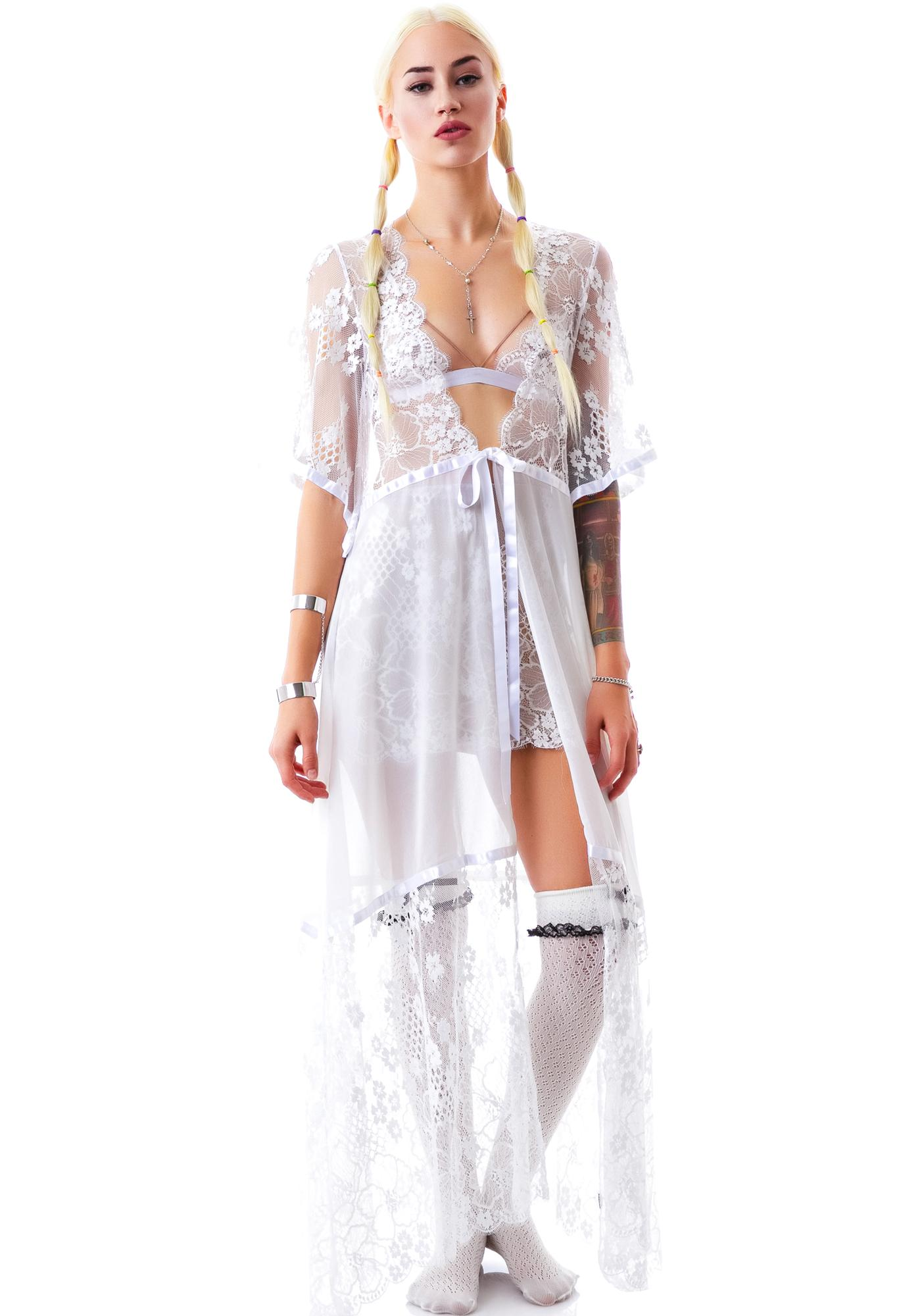 For Love & Lemons Anastasia Robe
