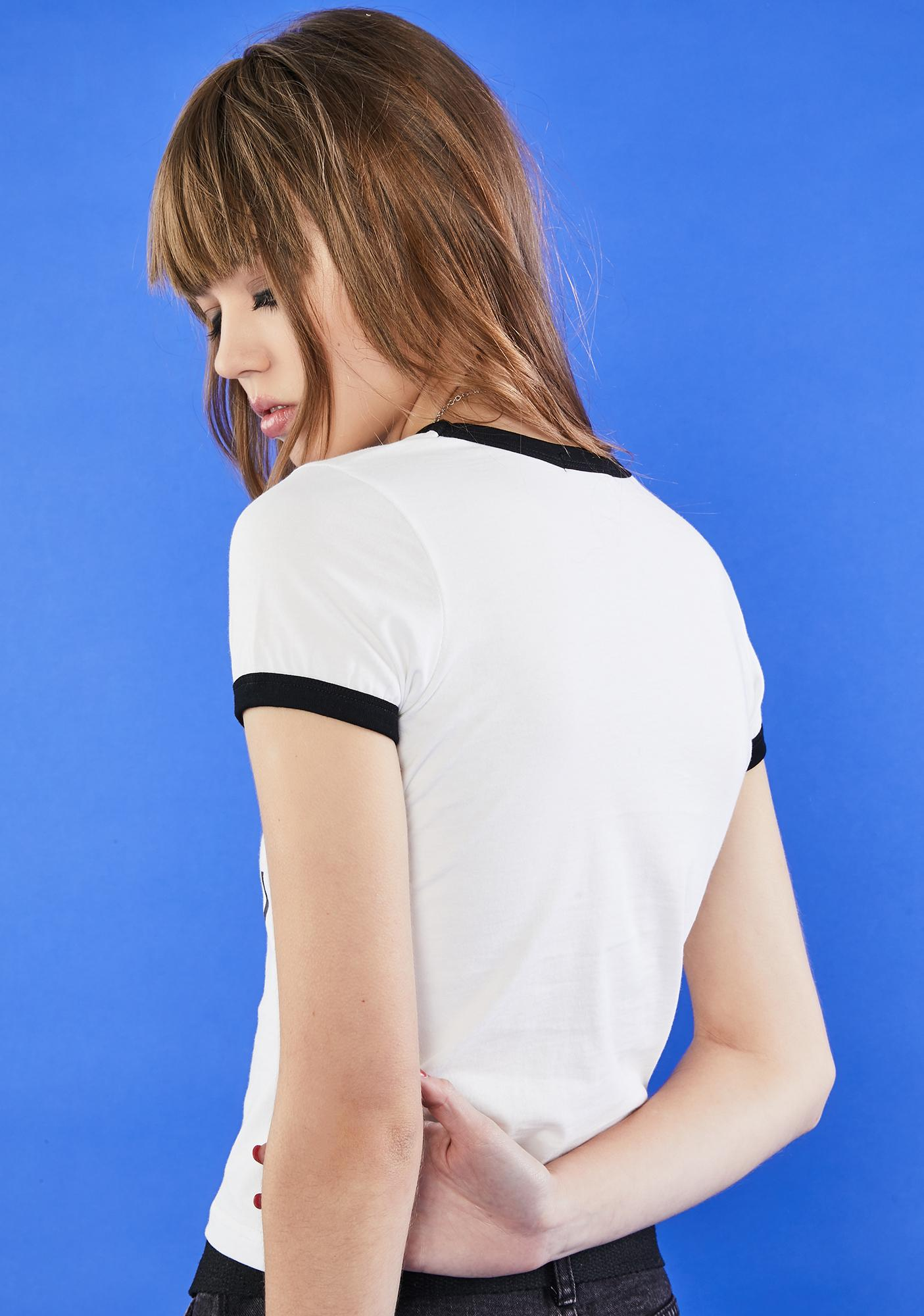 dELiA*s by Dolls Kill Chatterbox Graphic Tee