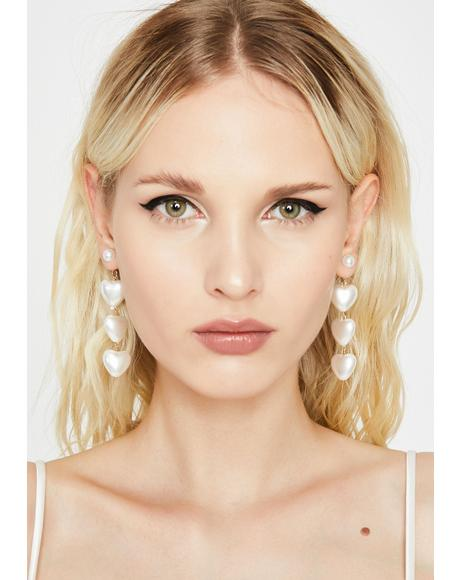 Fab Feelz Pearl Earrings