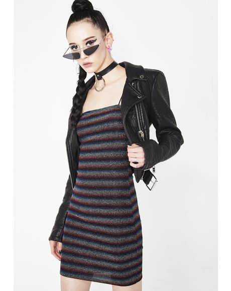 Freakum Out Stripe Dress