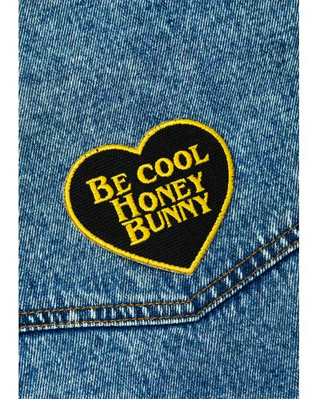 Be Cool Honey Bunny Patch