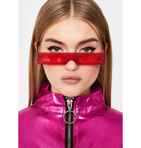 Lit Luxury Legacy Rectangle Sunglasses