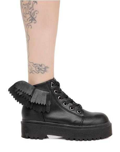 Slayr Angel Boots