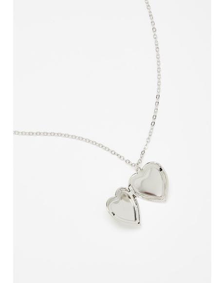 Always Be Mine Taurus Locket Necklace