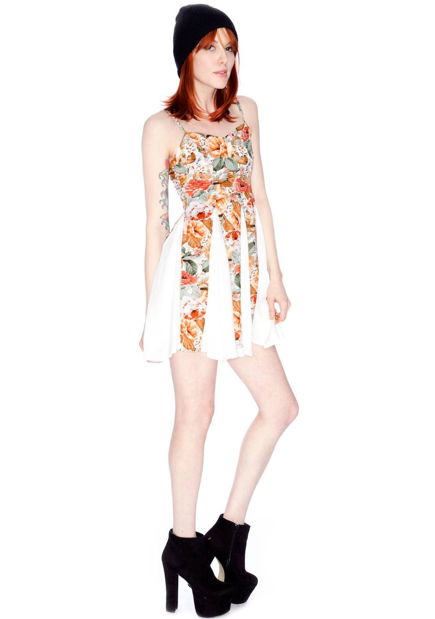 Minkpink Four Seasons Panelled Dress