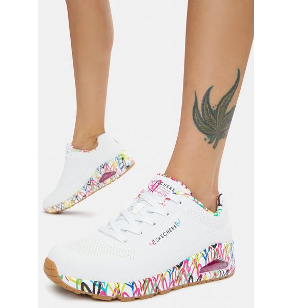 Skechers x JGoldcrown Loving Love Uno Sneakers