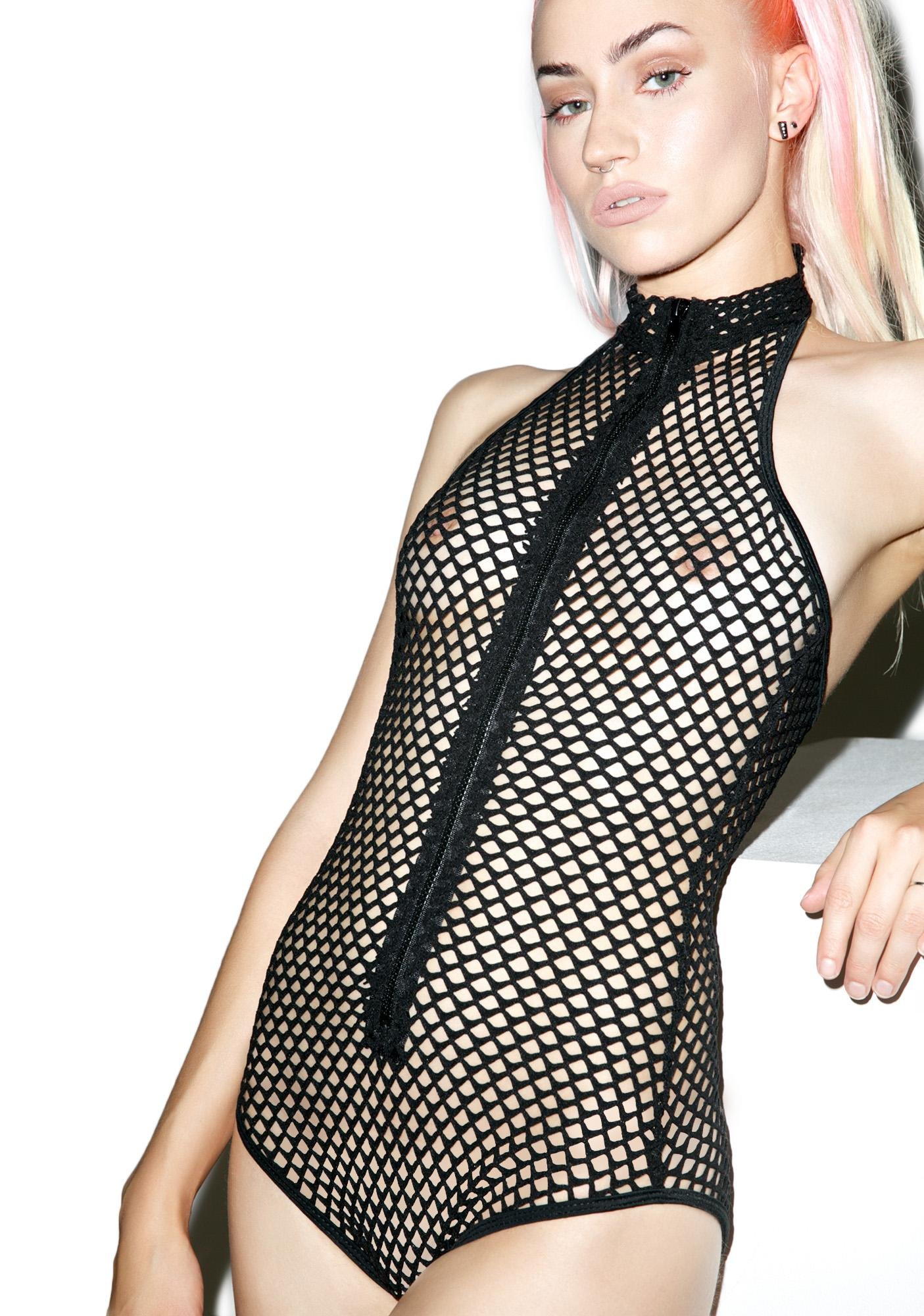 Obsessed Fishnet Bodysuit