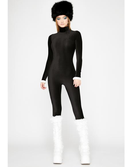 Can't Fight It Ribbed Catsuit