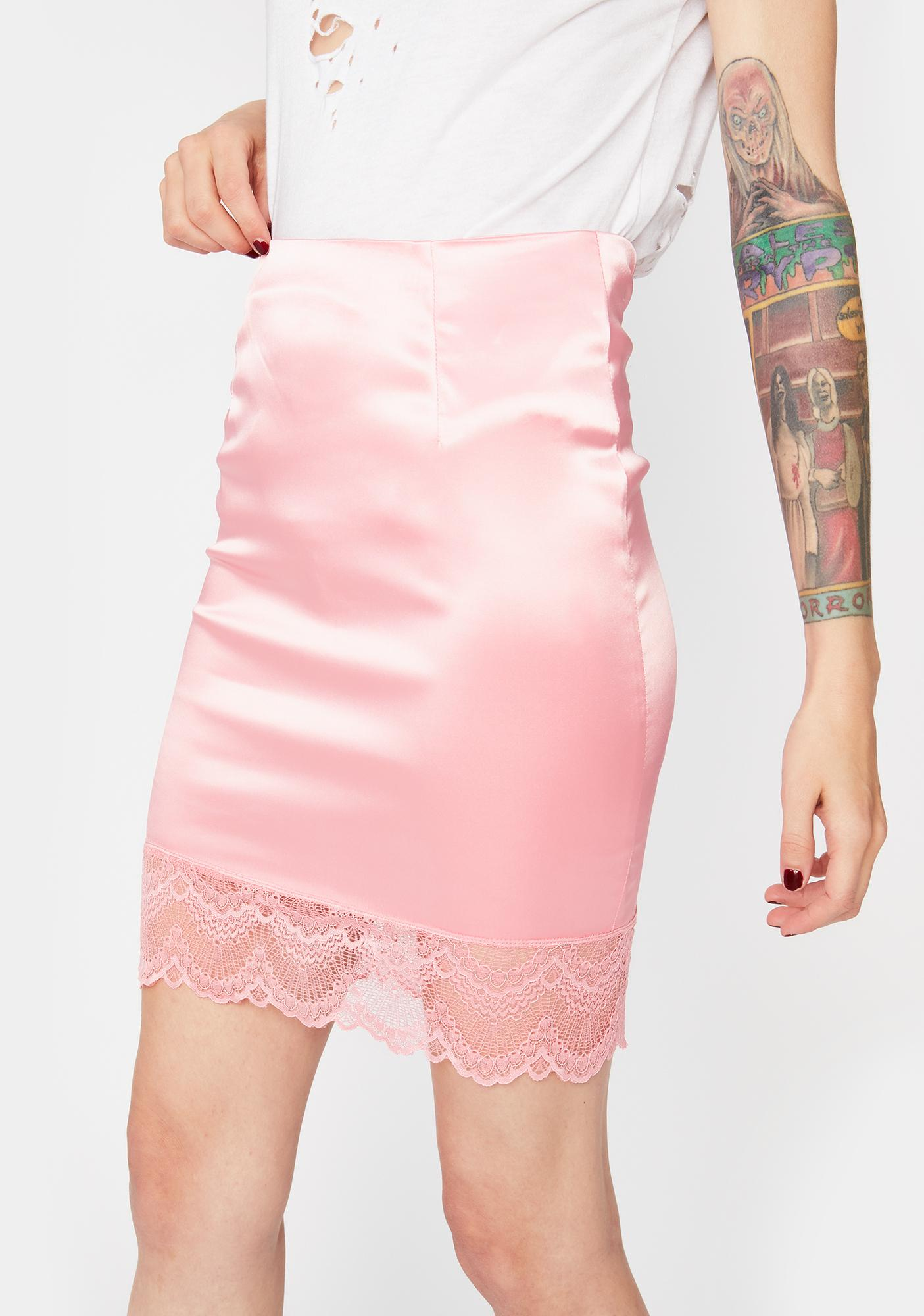 Sweet Pretty Girl Rock Mini Skirt