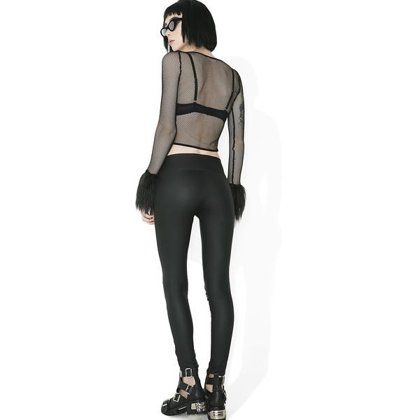 Killstar Taylor Laced-Up Leggings