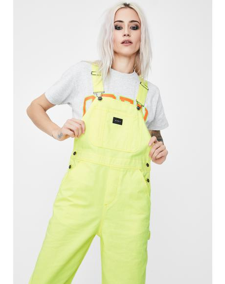 Slacker Denim Overalls