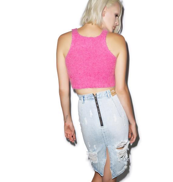One Teaspoon Brando Freelove Pencil Skirt