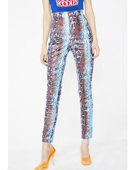 Alexis PVC High Waist Pants