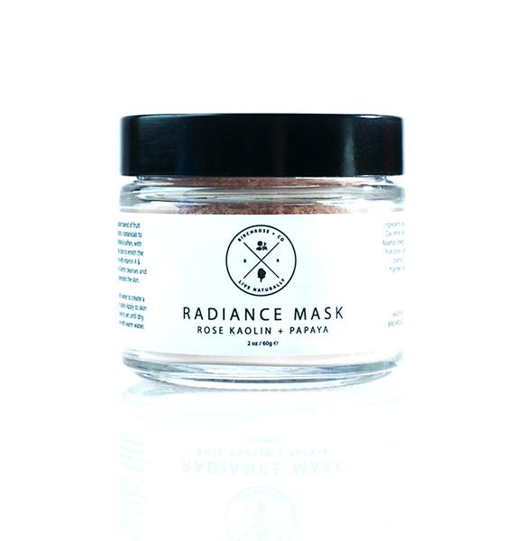 Birchrose + Co Rose + Papaya Radiance Mask