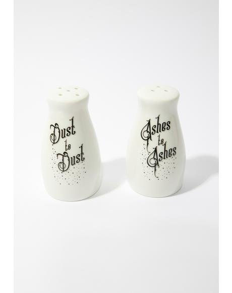 Ashes Dust Salt and Pepper