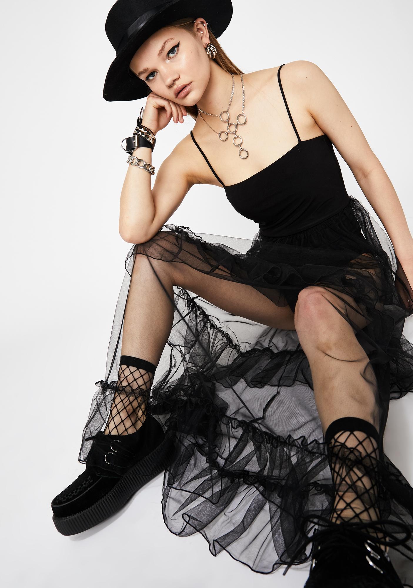 Defiant Love Tulle Maxi Dress