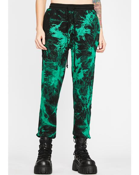 Dank Too Cool Tie Dye Joggers